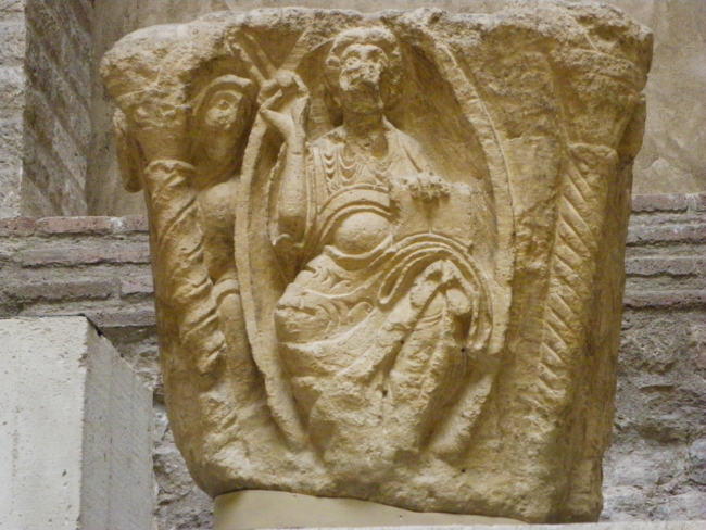 Paris / Musee de Cluny 「栄光のキリスト」