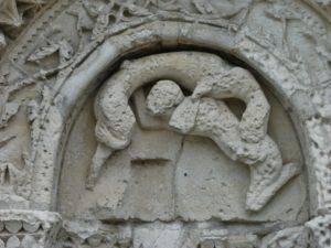Chadenac 扉口彫刻
