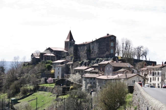 St.Privat d'Allier 全景