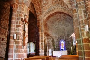 St.Privat d'Allier 内陣