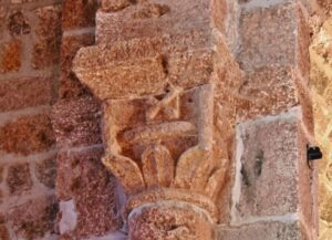 St.Privat d'Allier 柱頭彫刻