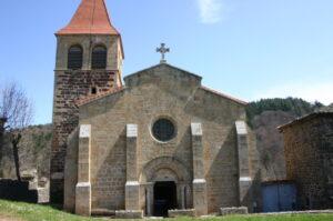 St.Privat d'Allier 正面
