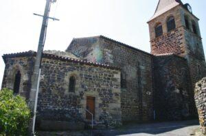 St.Privat d'Allier 後背部