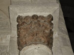 Ennezat 柱頭彫刻