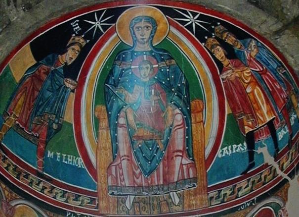Taull / Santa Maria「荘厳の聖母」