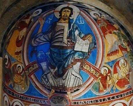 Taull / Sant Climent「栄光のキリスト」